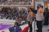 PON Papua - Waka Polda Papua apresiasi pertandingan voli indoor berlangsung aman