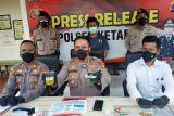 Polisi tangkap seorang pria di Sampit ubah warna pertalite mirip premium