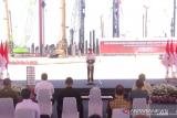 Presiden Jokowi sebut Smelter Freeport di Gresik buka 40 ribu lapangan kerja