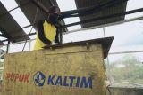 PT Pupuk Kaltim gelar pelatihan pembuatan dry maggot untuk urai sampah