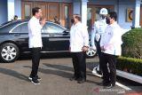 Presiden Jokowi groundbreaking smelter Freeport di Gresik