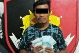 Polres Bitung ringkus pelaku pencurian uang jutaan rupiah di mobil