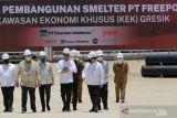 Presiden Jokowi resmikan pembangunan