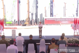 Presiden Joko Widodo sebut Smelter Freeport di Gresik buka 40.000 lapangan kerja