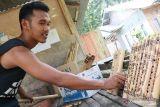 Dimasa pandemi, omzet perajin alat musik tiup Minangkabau motif tabuik Pariaman meningkat