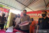 Polres Gunung Kidul menahan terduga korupsi ganti rugi JJLS
