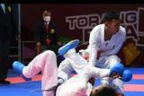 PON XX Papua - Ari Saputra sumbang emas karate untuk Lampung