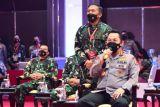 Kapolri Tekankan TNI-Polri Terus Bersinergi Wujudkan Target Vaksinasi Presiden Jokowi