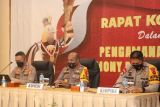 PON Papua - Kapolda Papua pimpin rakor pengamanan penutupan PON XX Papua