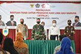 Kodim Bantul menyalurkan bantuan tunai PKL percepat pemulihan ekonomi