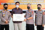 Rumah Sakit Bhayangkara Sulawesi Barat terima bantuan penanganan COVID-19