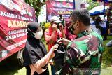 Peringati 33 tahun Akabri, Lantamal VI salurkan 3.000 paket sembako