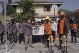 Mahasiswa Geomatika Itera beri pelatihan drone pada siswa SMK