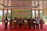 BPS OKU Timur dapat penghargaan sebagai penyedia data pertanian berkualitas
