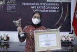 Pemkab Mamuju raih penghargaan APE tingkat madya 2021