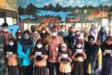 Sosialisasi & pembukaan rekening pelajar oleh Bank Kalsel Cabang Pelaihari di SDN 1 Pulau Sari Kec. Tambang Ulang.