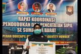 Di tengah Pandemi COVID-19 Disdukcapil Pasbar raih prestasi pelayanan adminduk2021