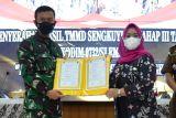 Pelaksanaan TMMD Sengkuyung Tahap III Kodim Sleman melampaui target