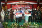 Kodim Nunukan Salurkan BTPKLW di Perbatasan Indonesia - Malaysia