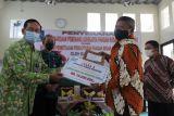 Sleman menyerahkan penghargaan Adhikarya Pangan Nusantara kepada KPM