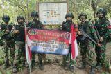 Menjaga patok batas negara RI dan Timor Leste