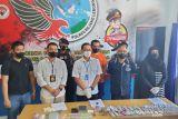 Mantan anggota polisi pengedar narkotika dijerat pasal berlapis