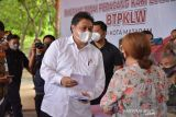Airlangga: Penyaluran Bantuan Tunai PKL dan Warung di NTB paling cepat