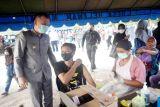 Masyarakat Manuhing antusias ikuti vaksinasi massal COVID-19