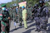 Ratusan personel TNI-Polri disiagakan amankan kunjungan Wapres