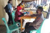 87 anggota Polres Sangihe laksanakan pemeriksaan kesehatan