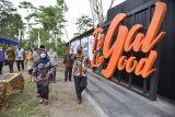 Bupati Sleman meresmikan bangunan seni instalasi di lima desa wisata