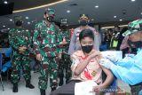 Panglima TNI sebutkan vaksinasi terbukt lindungi masyarakat dari COVID-19