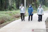 Bupati Bogor periksa hasil pekerjaan