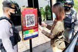 Masuk Polda Kalteng wajib gunakan Aplikasi PeduliLindungi