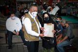 BNPB membagikan 1.000 masker ke pelaku UMKM dan PKL di Mataram