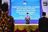 Menkominfo lantik lima Dewas LPP RRI Periode 2021-2026