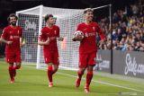 Firmino cetak trigol saat Liverpool  bantai Watford 5-0