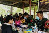 Warga perbatasan RI-PNG dapat layanan kesehatan