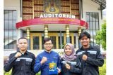 Mahasiswa UNP sabet juara II pada lomba pekan ilmiah pertambangan 2021