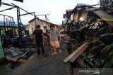 Bangunan walet dan barak terbakar di kawasan Pasar Ipu Muara Teweh