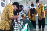 Penyandang disabilitas netra Temanggung ikuti pelatihan barista