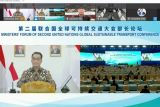 Menhub Budi Karya sebut Indonesia dukung tujuan pembangunan berkelanjutan 2030