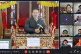 Para pelajar Australia belajar daring seni tari, musik Indonesia