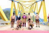 Jembatan Bukit Sulap Lubuklinggau  resmi beroperasi