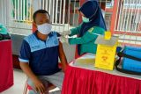 Vaksinasi COVID-19 di kalangan warga binaan pemasyarakatan di Sulsel capai 96,14 persen
