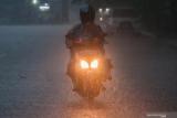 Beberapa daerah di Indonesia hujan lebat