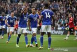 Manchester United takluk di kandang Leicester City 2-4