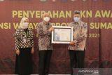 Penghargaan BKN tahun 2021 diraih Pemkot Solok