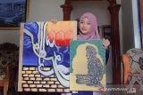 Mahasiswi UIN Palu juara terbaik dua lomba kaligrafi nasional