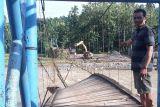 Empat jembatan gantung di OKU rusak berat akibat banjir bandang